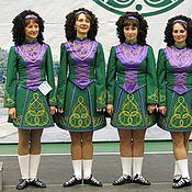 """Одежда ручной работы. Ярмарка Мастеров - ручная работа Ирландское танцорское платье """"Ирландия"""". Handmade."""
