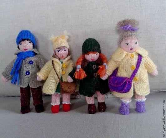 Коллекционные куклы ручной работы. Ярмарка Мастеров - ручная работа. Купить Вязанные куклы, игрушки.. Handmade. Вязаная игрушка