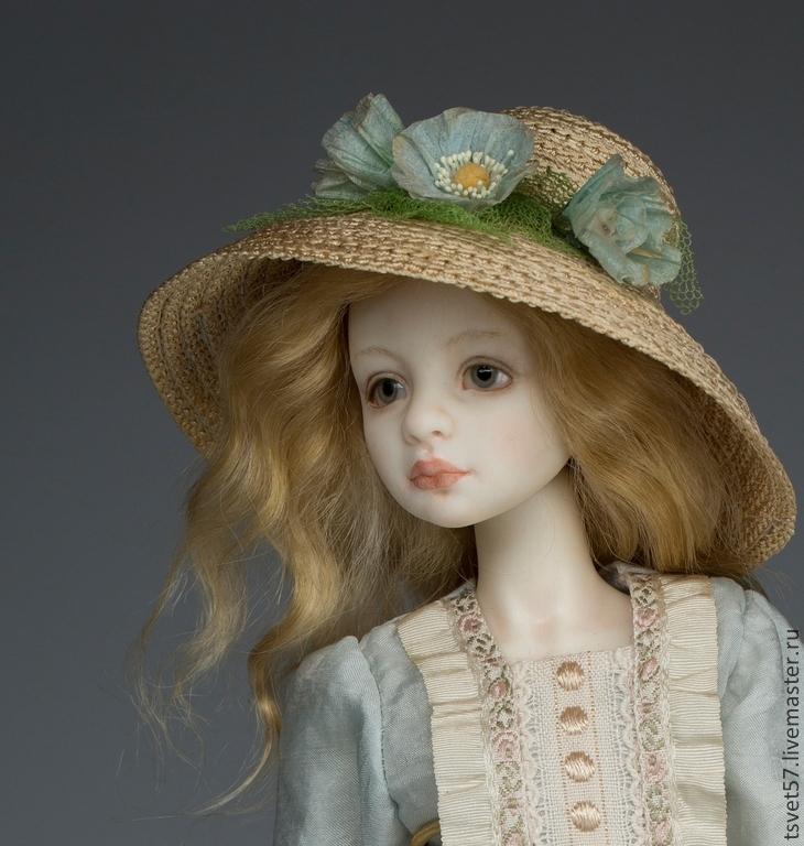 Авторские фарфоровые куклы ручной работы