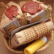 """Косметика ручной работы. Ярмарка Мастеров - ручная работа Подарочная упаковка для """"Ворожейного мыла"""". Handmade."""