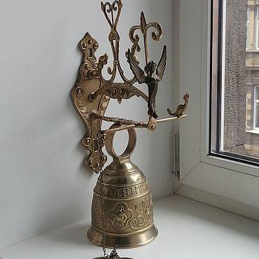 Винтаж ручной работы. Ярмарка Мастеров - ручная работа Бронзовый колокол. Handmade.