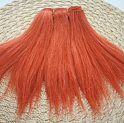 Материалы для творчества handmade. Livemaster - original item Hair pieces natural mohair (goat) 1 meter. Handmade.