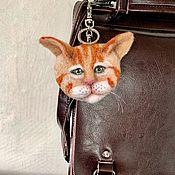 Украшения handmade. Livemaster - original item Cat Keychain. Handmade.