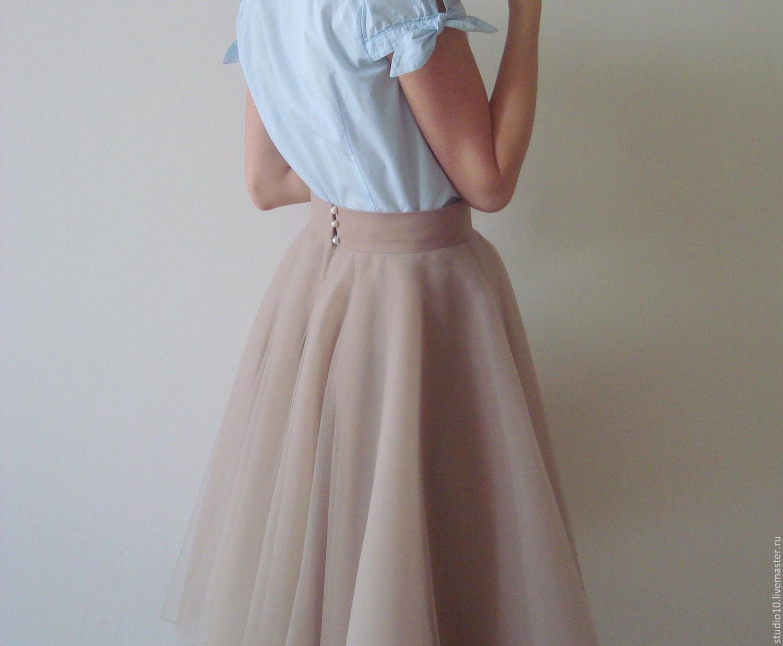 Сборка пышной юбки