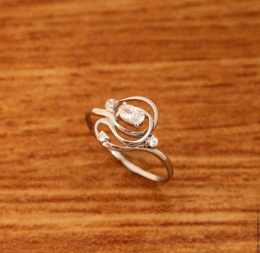 Кольца ручной работы. Ярмарка Мастеров - ручная работа. Купить Серебряное кольцо Ариель, серебро 925. Handmade. Серебряный