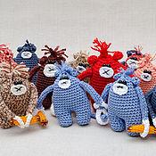 Куклы и игрушки ручной работы. Ярмарка Мастеров - ручная работа Обезьянки с бананом. Handmade.