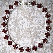 Украшения handmade. Livemaster - original item A beaded necklace of