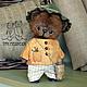 """Мишки Тедди ручной работы. Ярмарка Мастеров - ручная работа. Купить """"Лесные жители"""": Потап. Handmade. Весна, волшебство, плюш"""