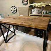 Для дома и интерьера handmade. Livemaster - original item TABLES: Wooden table in loft style. Handmade.