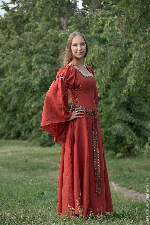 Ролевые игры ручной работы. Ярмарка Мастеров - ручная работа. Купить Эльфийское платье мод.4 с поясом. Handmade.