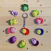 """Куклы и игрушки ручной работы. Ярмарка Мастеров - ручная работа Брелок """"Рыбка моя"""". Handmade."""