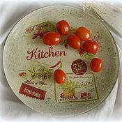"""Для дома и интерьера ручной работы. Ярмарка Мастеров - ручная работа Кухонный набор """"Kitchen"""". Handmade."""