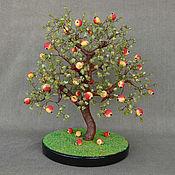 handmade. Livemaster - original item Tree tree of chrysolite and coral. Handmade.