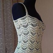 Одежда ручной работы. Ярмарка Мастеров - ручная работа Платье-туника. Handmade.