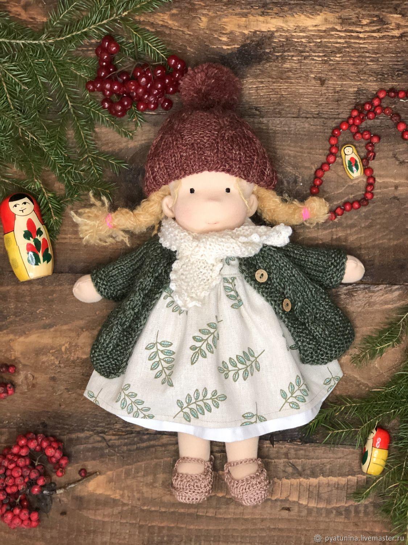 Вальдорфская кукла, 36 см, Вальдорфские куклы и звери, Москва,  Фото №1
