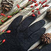 Аксессуары ручной работы. Ярмарка Мастеров - ручная работа Шерстяные перчатки  - лучшие! Валяные перчатки именные перчатки. Handmade.