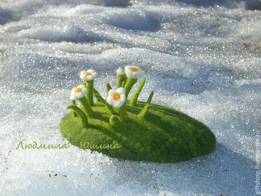 Мини-шляпка `Весна`.