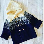 Работы для детей, handmade. Livemaster - original item Cardigan for baby. Handmade.