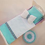 Мебель для кукол ручной работы. Ярмарка Мастеров - ручная работа Постельное белье для кукол. Handmade.