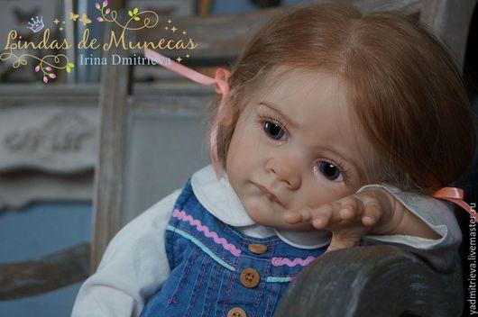 Куклы-младенцы и reborn ручной работы. Ярмарка Мастеров - ручная работа. Купить кукла реборн Молли, молд Frida( Karola Wegerich). Handmade.