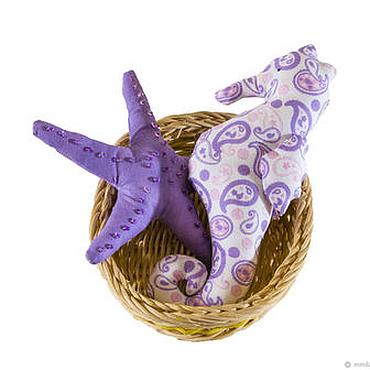 Куклы и игрушки ручной работы. Ярмарка Мастеров - ручная работа Набор морских обитателей в корзинке. Handmade.
