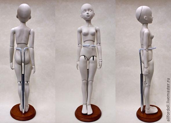 Как сделать подставку для куклы своими руками