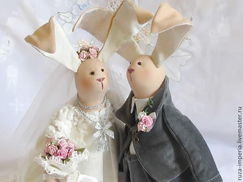 Свадебные тильды куклы