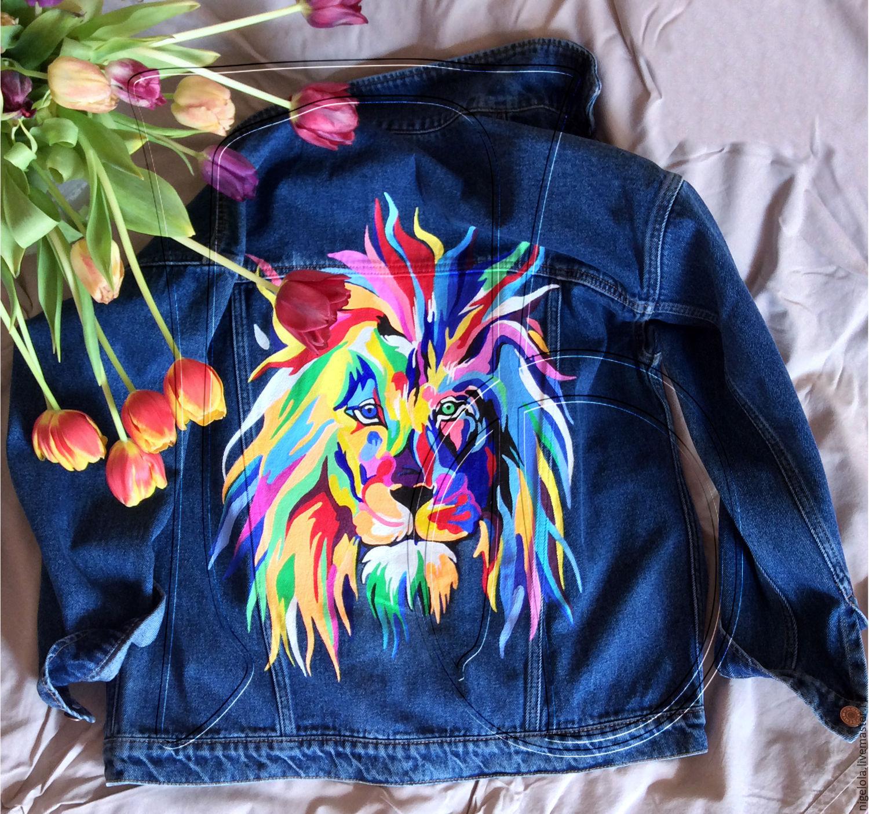 Ручная роспись на куртках