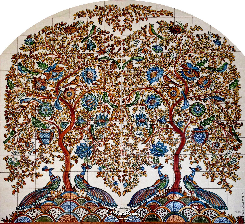 Роспись керамической плитки своими руками фото 781