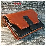 Сумки и аксессуары handmade. Livemaster - original item Genuine leather wallet 5 sections. Handmade.