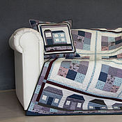 Для дома и интерьера handmade. Livemaster - original item patchwork plaid pillowcase