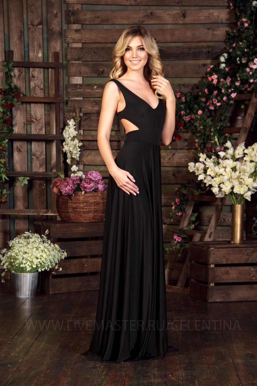 Строго но сексуально вечернее платье
