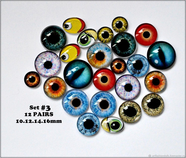 Как сделать стеклянные глазки для игрушки