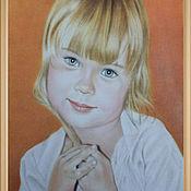 Картины и панно ручной работы. Ярмарка Мастеров - ручная работа Портрет девочки. Handmade.