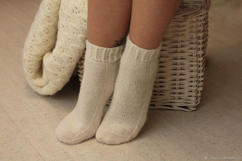 Women's wool socks 'Elegant', Socks, Moscow,  Фото №1