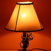 Для дома и интерьера ручной работы. Ярмарка Мастеров - ручная работа Небольшая настольная лампа. Handmade.