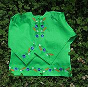 Русский стиль handmade. Livemaster - original item Shirt