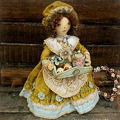 Куклы и игрушки ручной работы. Ярмарка Мастеров - ручная работа Чайная барышня. Handmade.