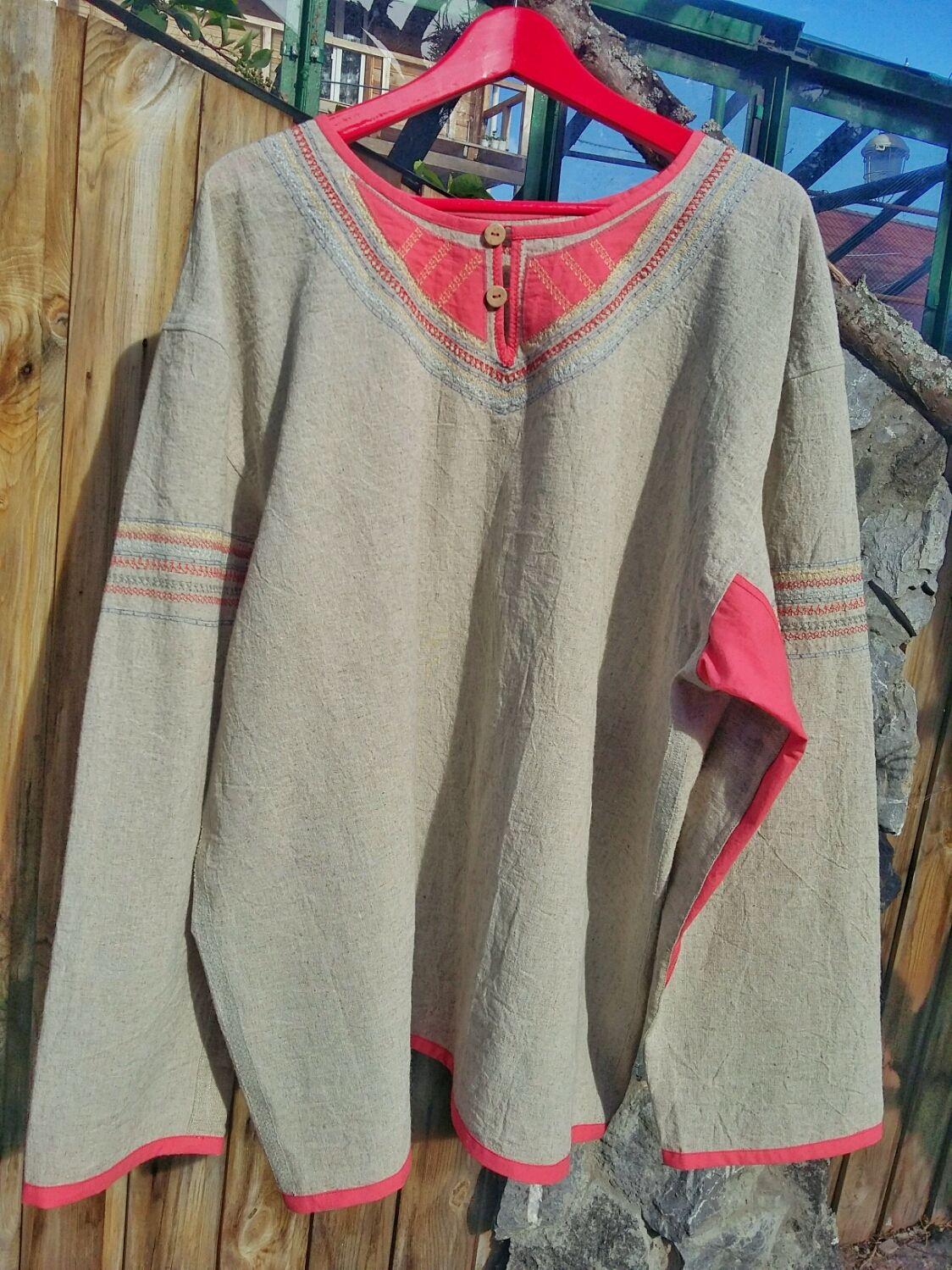 Рубаха Богатырская, Рубашки мужские, Новосибирск,  Фото №1