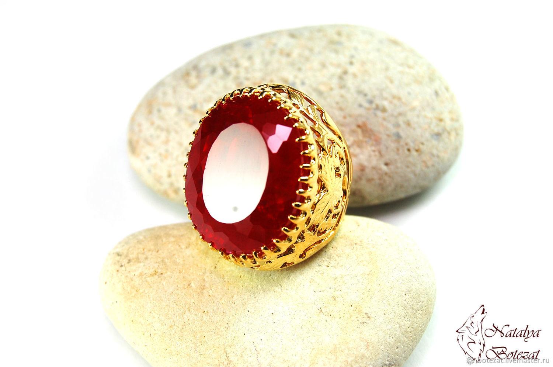 3d57ef2d3b75 ... рубиновое · Кольцо с красным рубином, украшение с рубином, рубиновое  кольцо, украшение в подарок купить