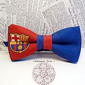 Аксессуары handmade. Livemaster - original item bow tie barcelona/football/spanish soccer club/ bars. Handmade.