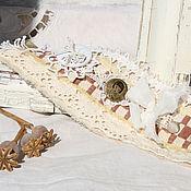 Украшения ручной работы. Ярмарка Мастеров - ручная работа Браслет-манжета «Анна». Handmade.