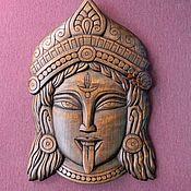 Маски ручной работы. Ярмарка Мастеров - ручная работа Лик индуисткого божества Кали. Handmade.
