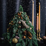 Елки ручной работы. Ярмарка Мастеров - ручная работа Ёлка новогодняя из натуральной пихты 55 см ручной работы. Handmade.