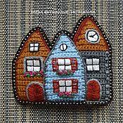 Украшения handmade. Livemaster - original item Brooch knit brooch Multicolored embroidered Holland 5. Handmade.