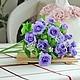 Другие виды рукоделия ручной работы. Ярмарка Мастеров - ручная работа. Купить Цветы РОЗОЧКИ 2 вида из ткани  в букете В НАЛИЧИИ 3цв. Handmade.