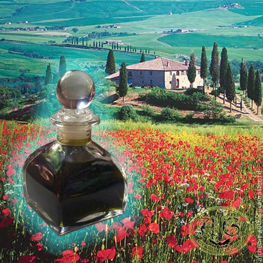 """Натуральные духи ручной работы. Ярмарка Мастеров - ручная работа. Купить """"Toscana """" духи натуральные. Handmade. Духи, парфюм"""
