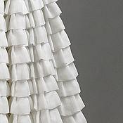 "Одежда ручной работы. Ярмарка Мастеров - ручная работа Юбка шелковая солнцеклеш ""Фея"" молочная. Handmade."