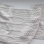 Аксессуары handmade. Livemaster - original item Knitted scarf, men`s/women`s
