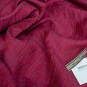 Ткани ручной работы. Ярмарка Мастеров - ручная работа Лен с шелком G.Armani. Handmade.